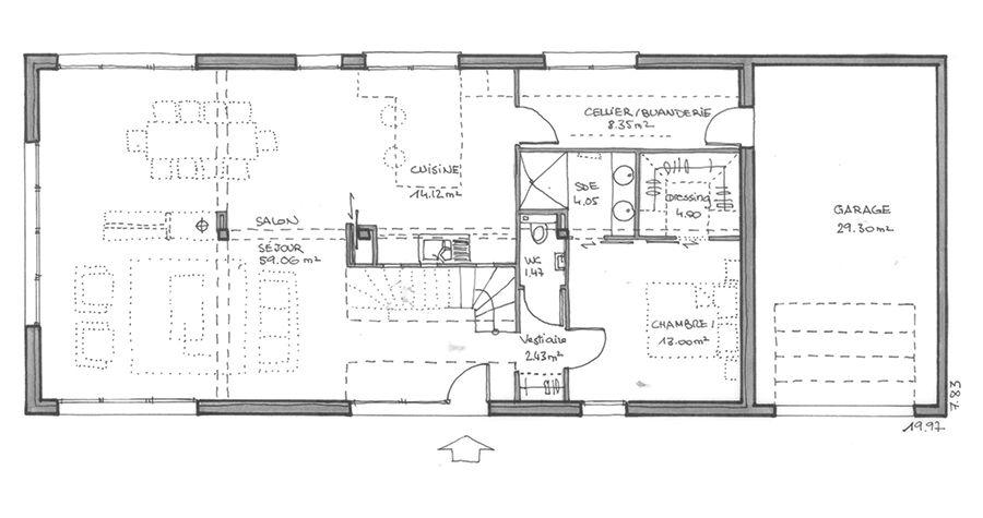 Maison Elbe - Maison moderne - IGC Construction Maisons