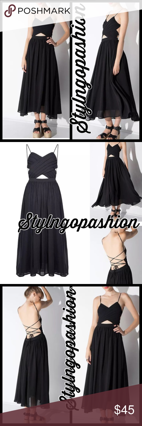 Black cut out maxi dress boutique maxi dresses and layering