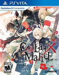 Collar X Malice for PS Vita | GameStop | PS Vita