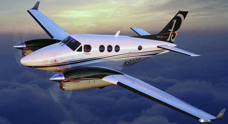 Beechcraft King Air 90 Private Turbo Prop Charter