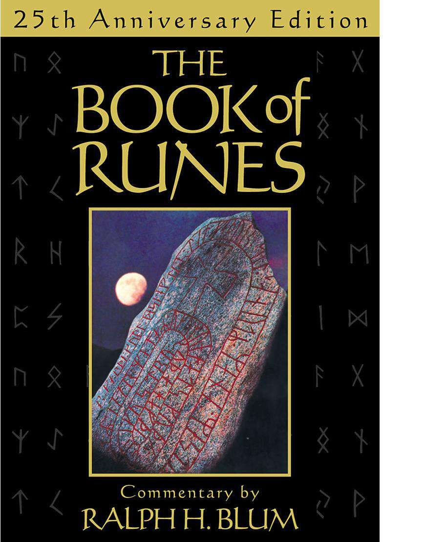 The Book Of Runes A 25 Ceramic Rune Stones By Ralph H Blum Buy Online Worldwide Shipping Buyindiaglobal Buytarot Tarotonline Runes Rune Stones Books