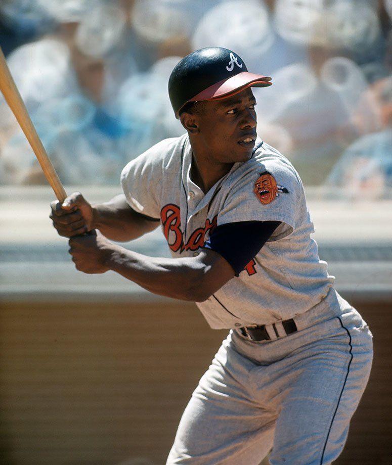 SI's Best Photos of Hank Aaron American baseball league
