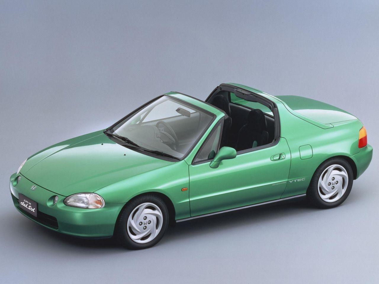 Honda Civic Crx Del Sol 1992 Youngtimer