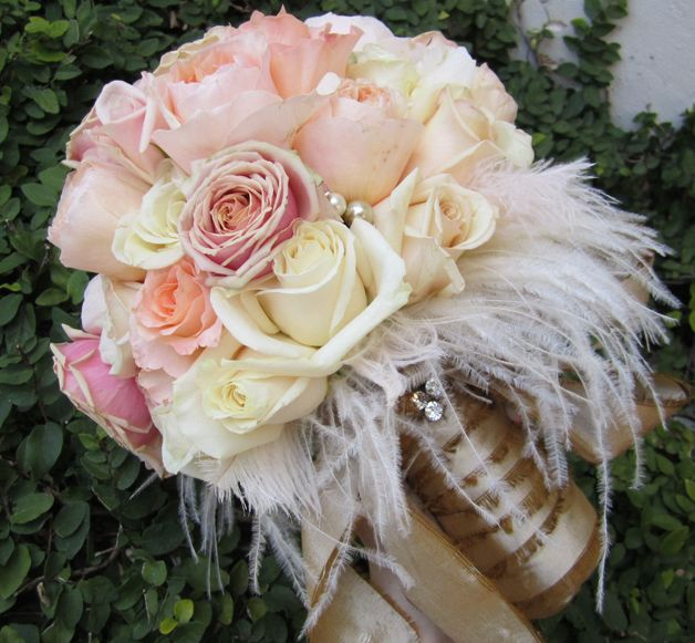vintage romantic bridemaids   Romantic Vintage Wedding   The Posh Posey