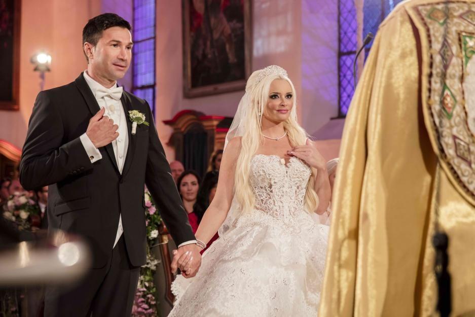 Die schönsten Brautkleider der Stars   Michelle hunziker