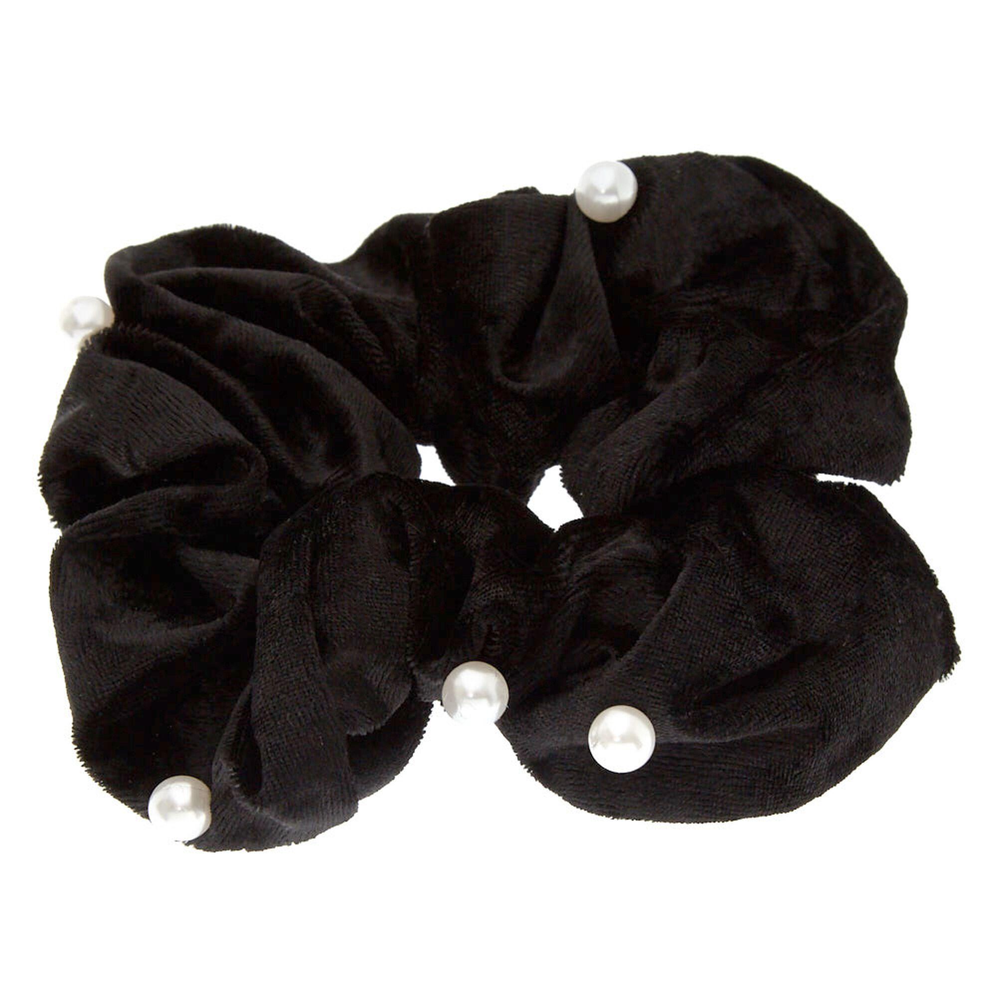 Girls Satin Look Alice Band /& Scrunchie Set Hair Band Headband School Colours