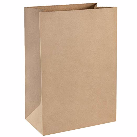 Amazon Com Bagdream Grocery Bags 12x7x17 Inches 100pcs Heavy Duty Kraft Brown Paper Grocery Bags Durable Kra Paper Gift Bags Paper Grocery Bags Shop Pinterest