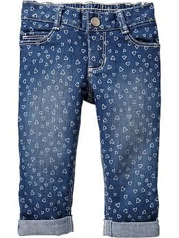 Cuffed Skinny Jeans for Baby #oldnavy
