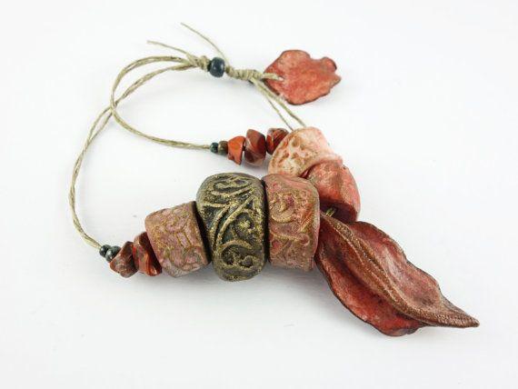 Artisan Ceramic BeadS Large collection  viking by greybirdstudio, £49.00