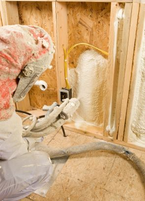 Foam Party Get Your Spray Foam Insulation On Much Better For The Environment Too Home Insulation Types Of Insulation Insulation