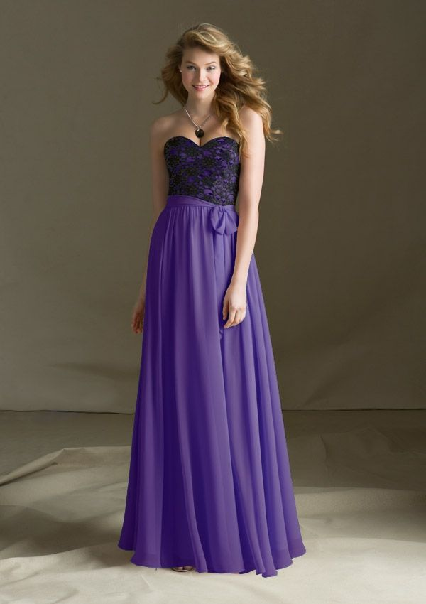 Bridesmaid Dress From Bridesmaids By Mori Lee Style 682 Lace And ...