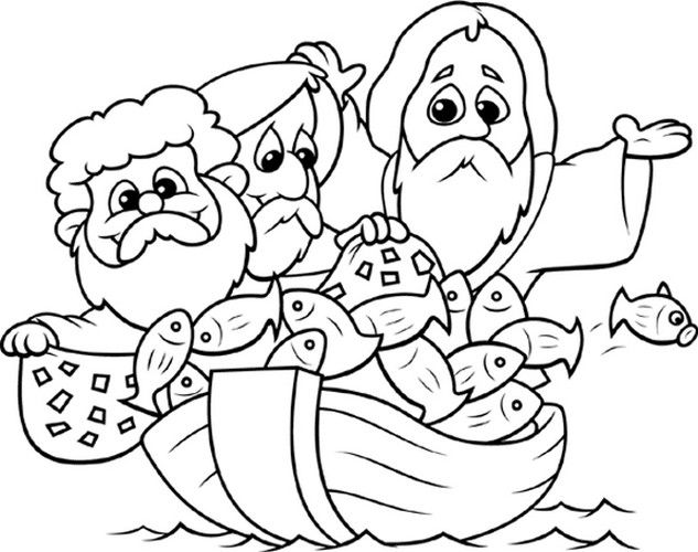 Bible Coloring Pages For Toddlers | Sunday School | Pinterest ...