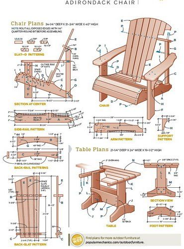 amerikaner stole tr pinterest meubles de jardin en bois plans de meubles et fauteuils. Black Bedroom Furniture Sets. Home Design Ideas