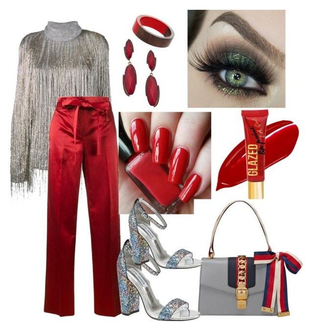 """""""Occasional Outfit"""" by armeliafashion on Polyvore featuring Valentino, Helmut Lang, Gucci, Blu Bijoux, Dorothy Perkins and Steve Madden"""