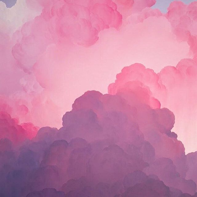 Today on TL: Pink, fluffy and perfect ☁️ #ianfischer paints dreamy clouds | Link in bio  #trendland #dailydose #love