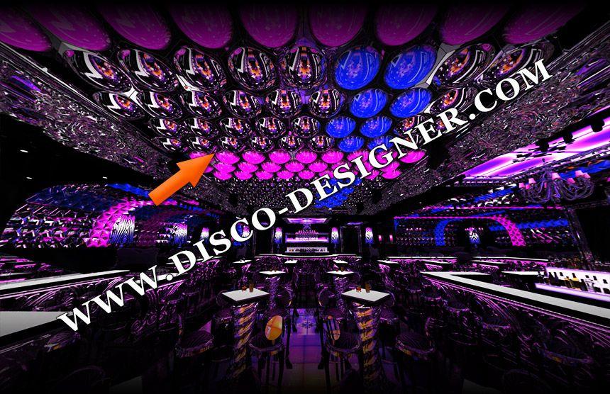 BIG LED HEXA BUBBLE - 16 Million colors, DMX Sound to Light Unlimited DMX programming possibility http://disco-designer.com/applications/big-hexa-bubbles.html