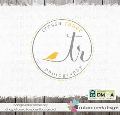 photography logos | premade logos for photographers