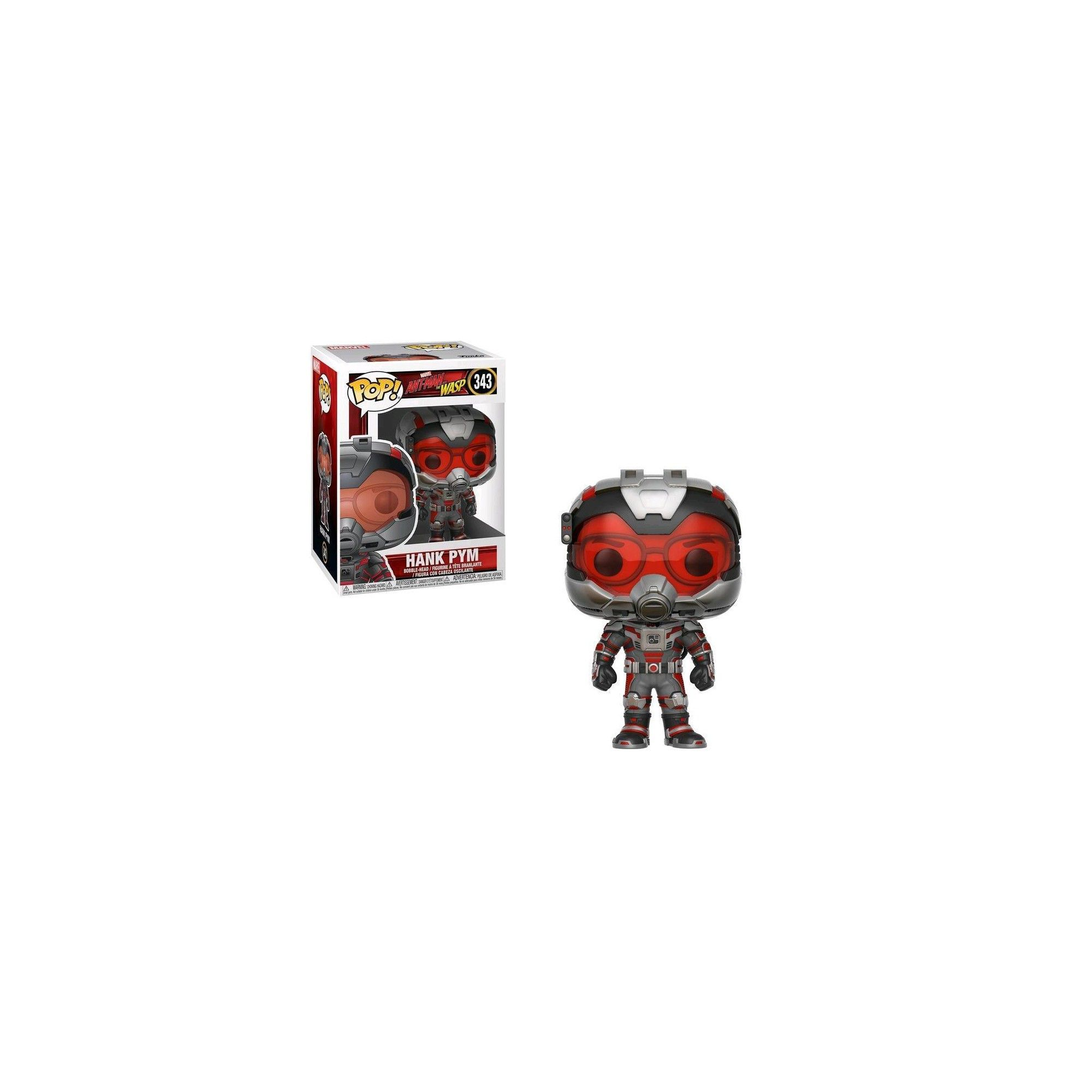 Ant-Man and the Wasp Hank Pym Collectible Figure Multicolor Funko Pop Marvel