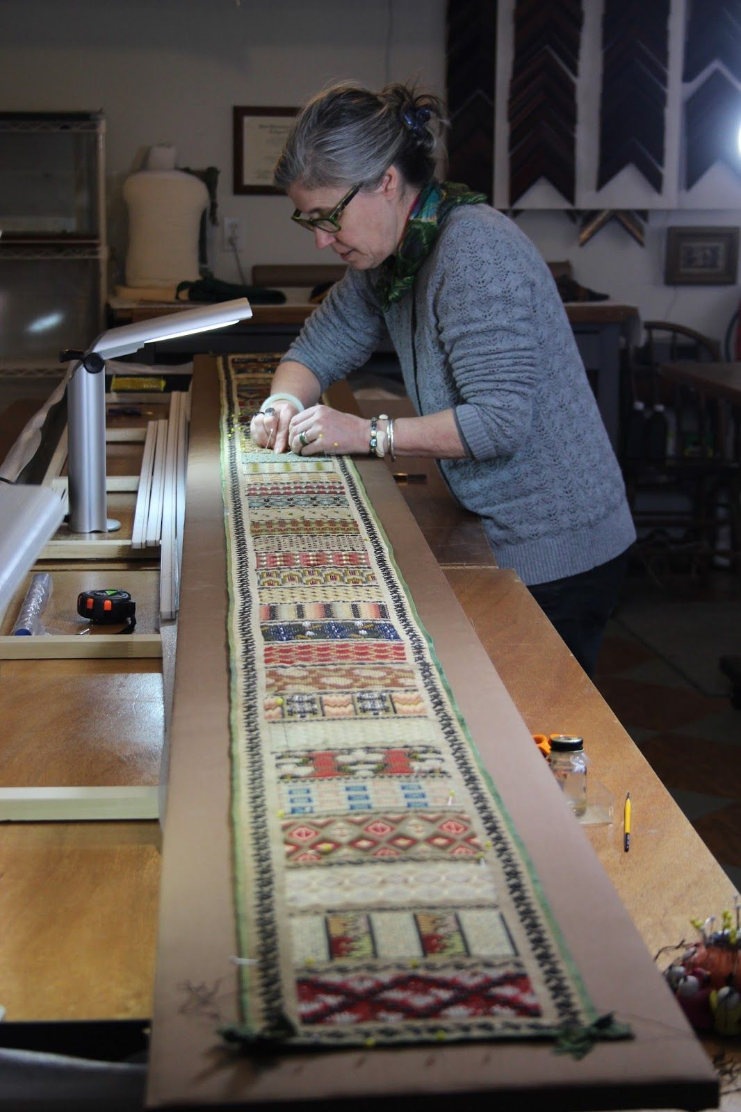 A blog about the conservation of Textiles, objects
