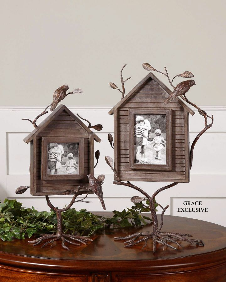 Home Decor Discounts: Bird House Picture Frames Offered By One Of Our Home Decor