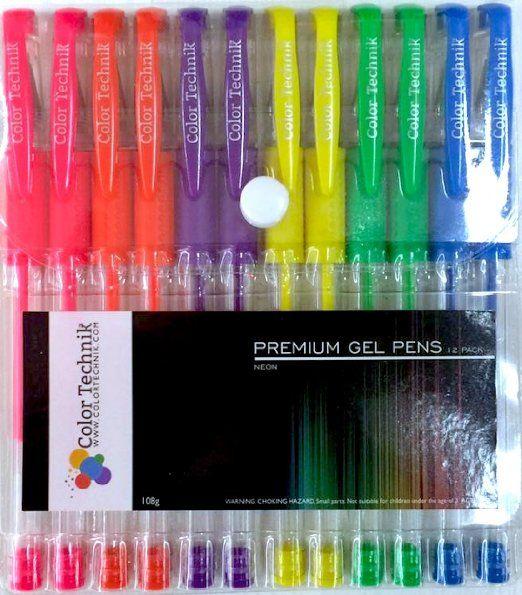 gelly roll artist pack of gel pens