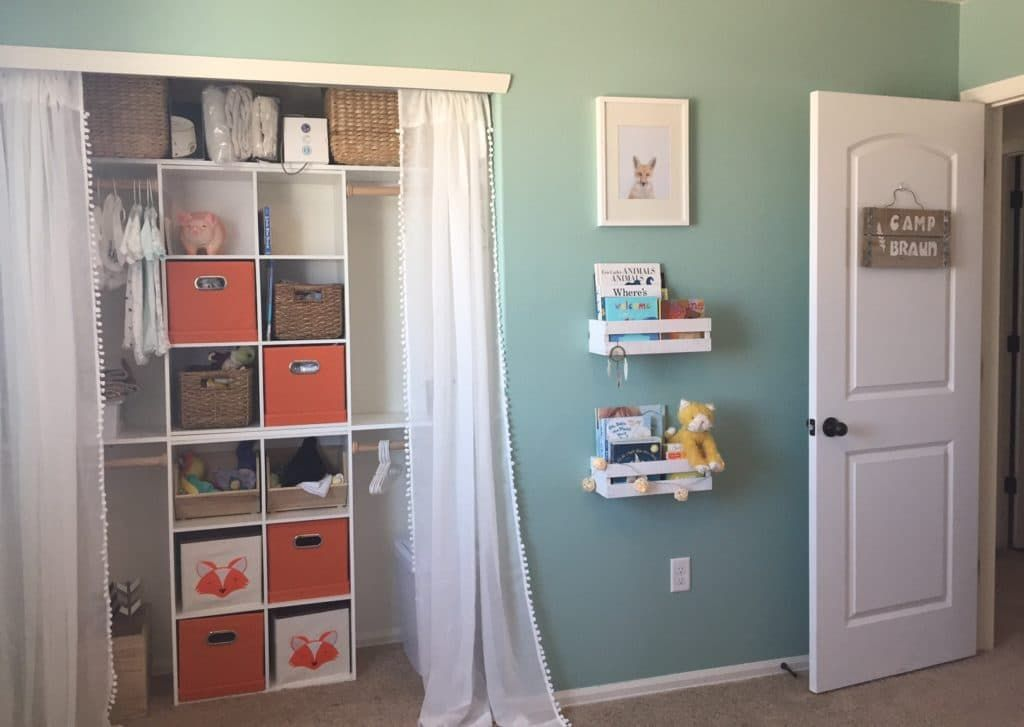 Now This Is How To Organize A Nursery Closet Project Nursery Baby Closet Organization Baby Nursery Closet Nursery Closet