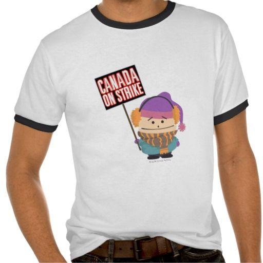 0e7536499 Canada on Strike South Park Ike T Shirt | Funny Stuff | T shirt ...