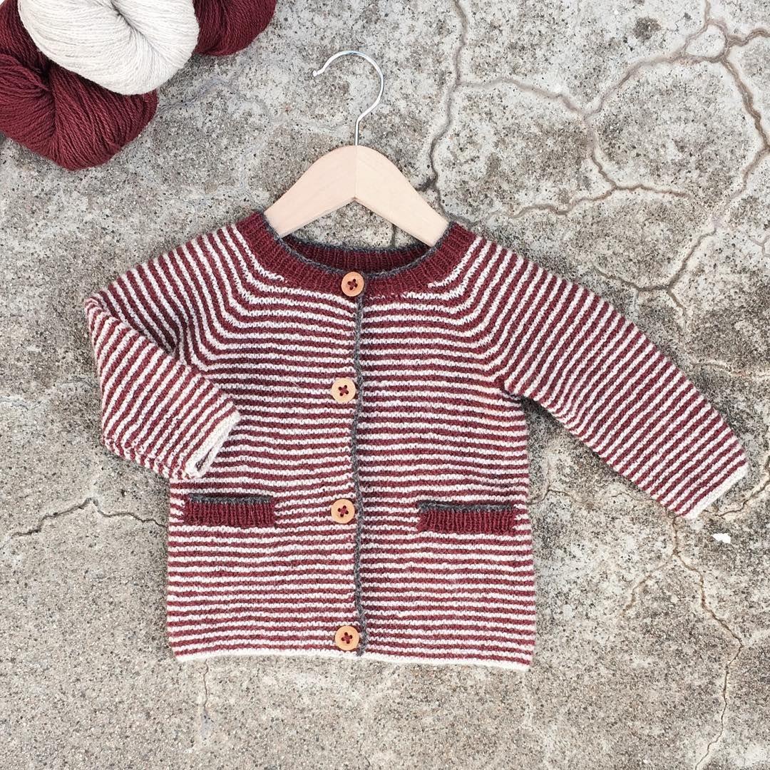 Lommeliten-jakke - oppskrift finnes Nøstestrikk nr. 4. | Nøstebarn