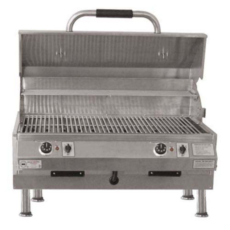 Electri-Chef 32 in Tabletop Electric Grill - Dual Burner - 4400-EC