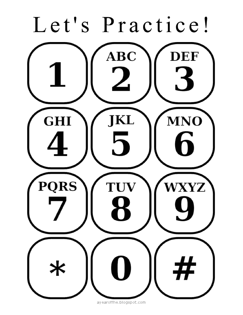 Practice calling 9-1-1 or learning their own phone number