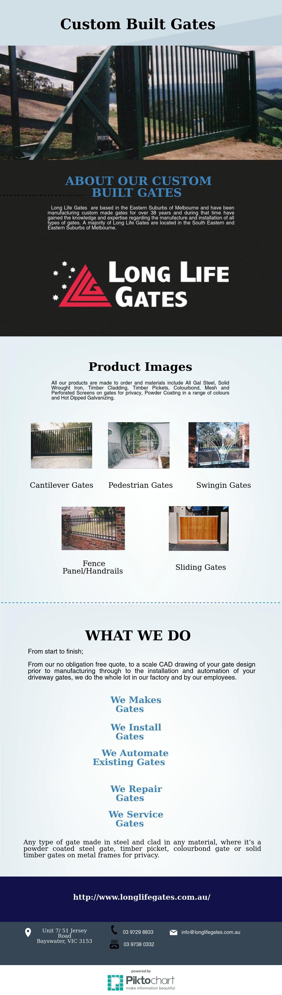 Custom Built Gates