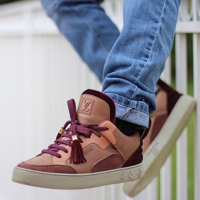 Kanye West X Louis Vuitton Don Patchwork Yeezy By Kanye West Hummel Sneaker Kanye West