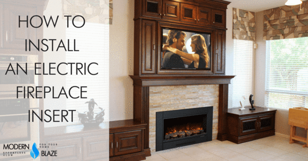 How To Install An Electric Fireplace Insert Fireplace Inserts