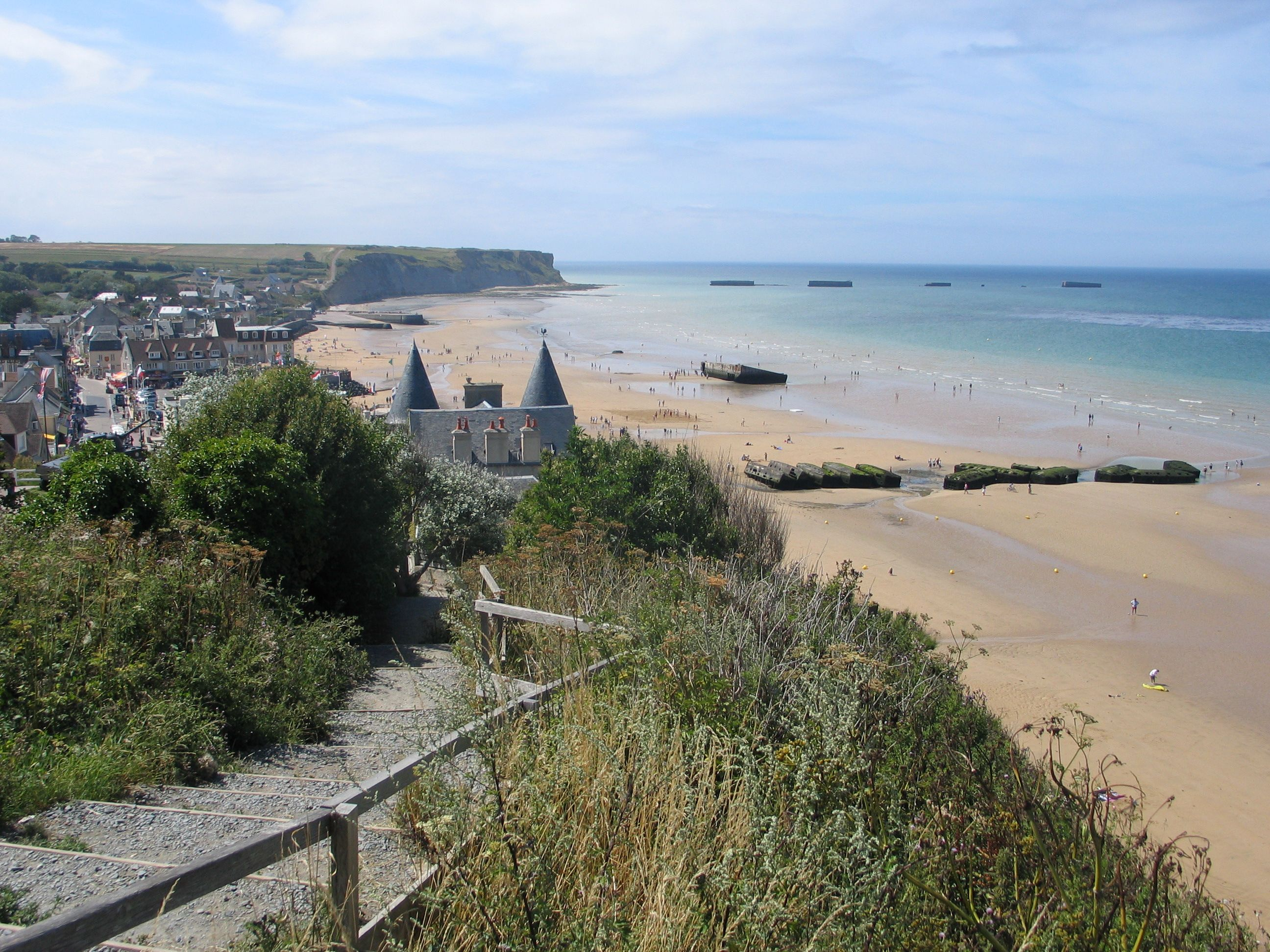 d day normandy beach france