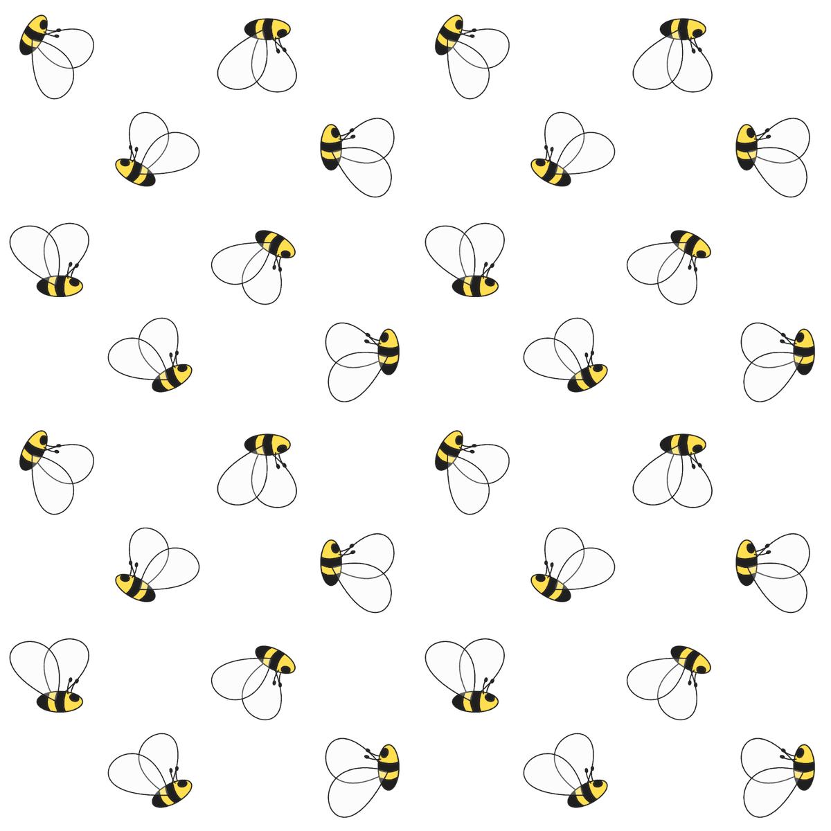 Free Digital Bee Scrapbooking Paper And Printable