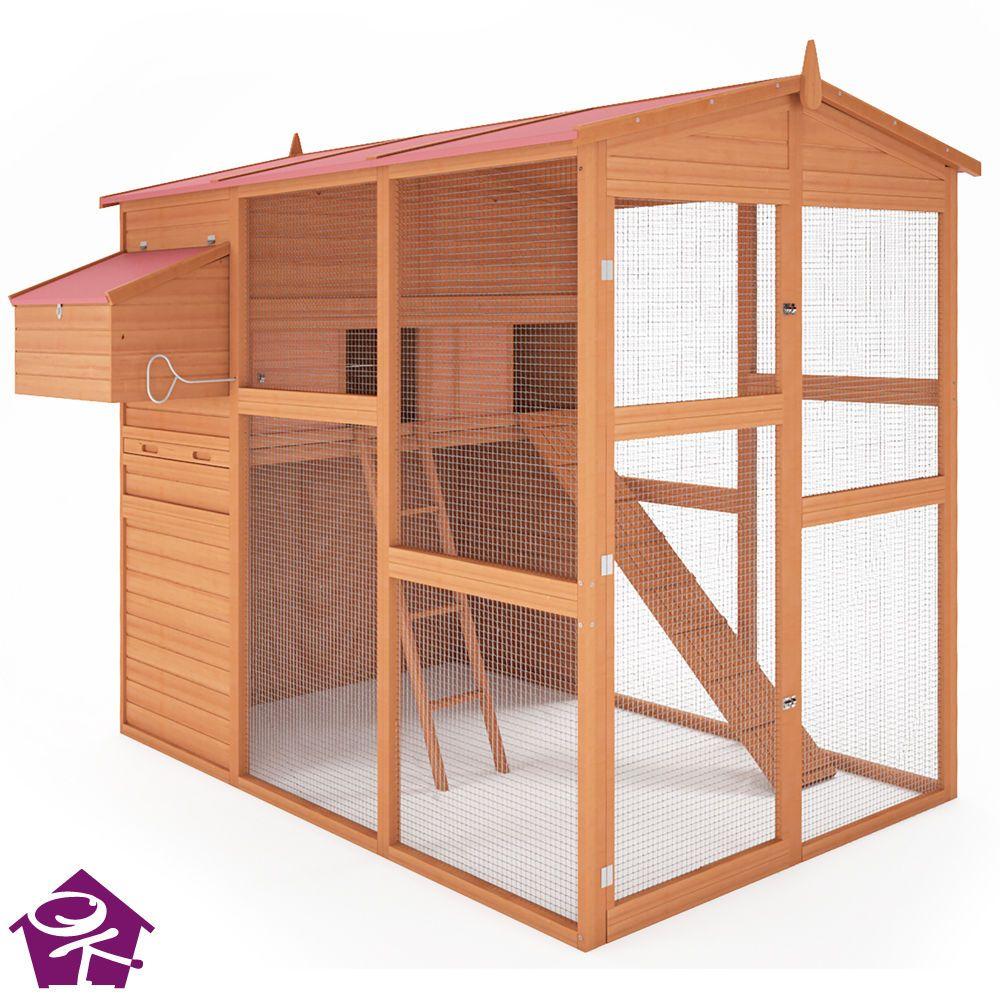 details zu h hnerstall h hnerhaus brutkasten stall h hnervoliere gefl gelstall huhn kickie. Black Bedroom Furniture Sets. Home Design Ideas