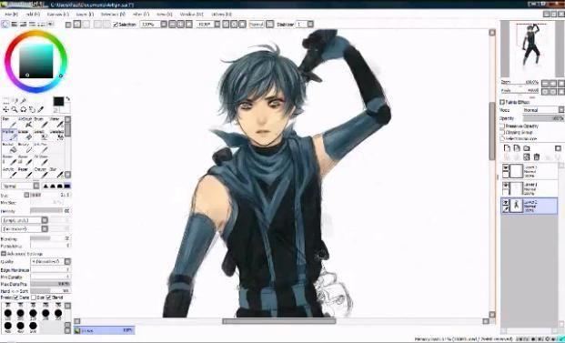 dibujos de anime para dibujar en la computadora  Programa para