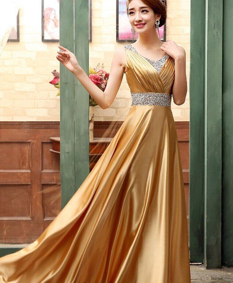 安い2015 レッド ゴールド ロイヤル ブルー パー プル ロング ウエディングドレス ビーズ セクシー な アメージング ドレス
