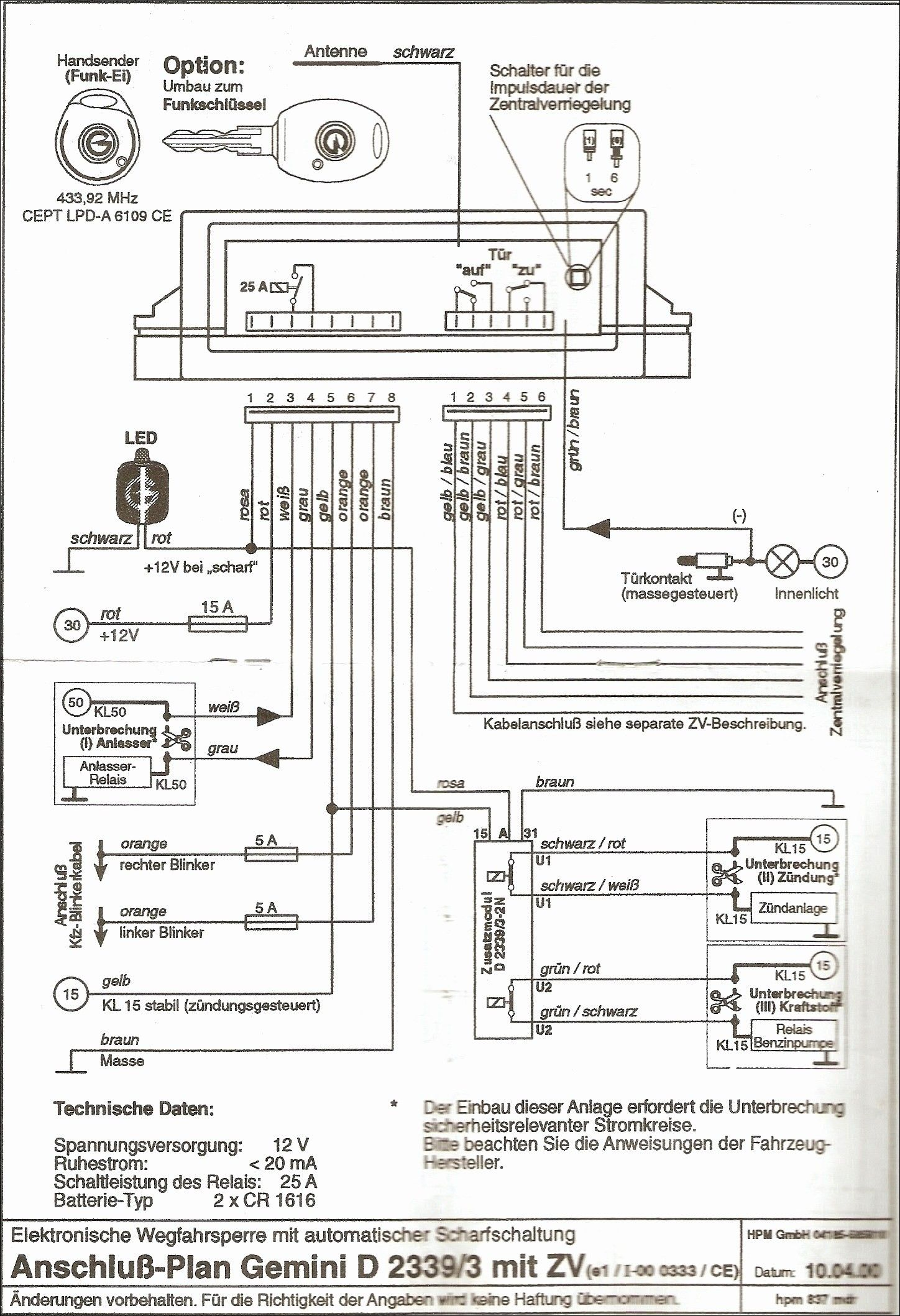 Wiring Diagram Auto Start