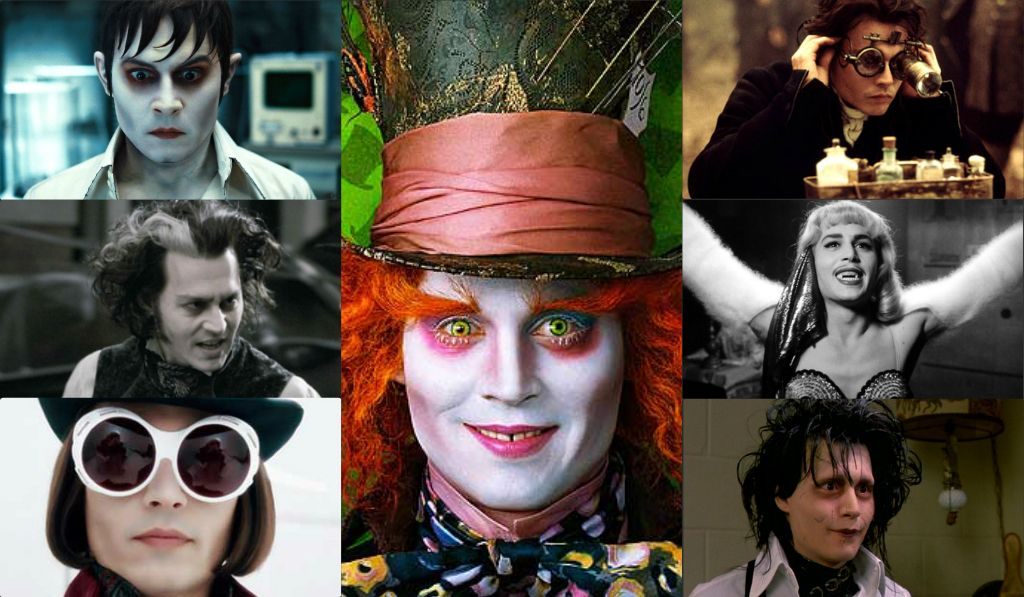 Johnny Depp.. Master Of Disguise