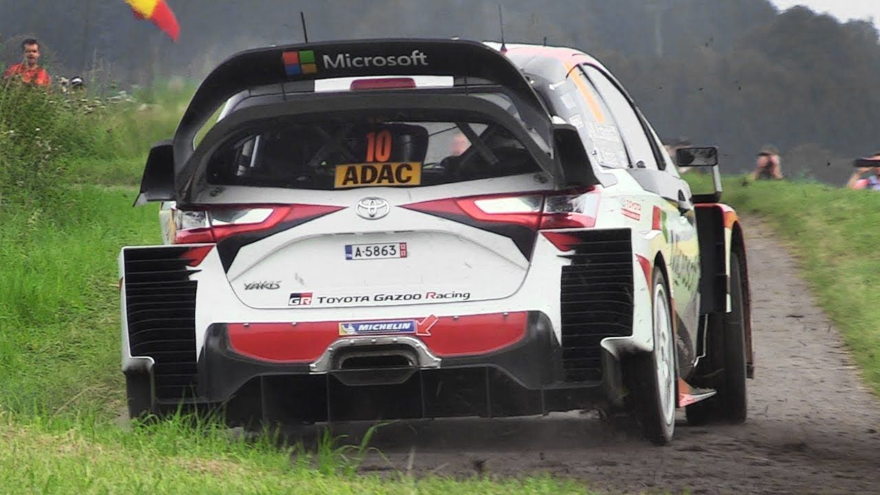 Toyota Yaris Wrc Tribute 10 Minutes Of Pure Sounds At Rallye Deutschla In 2020 Yaris Toyota Tribute