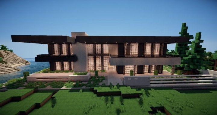Zentoro A Conceptual Modern Home Minecraft Building Ideas Download