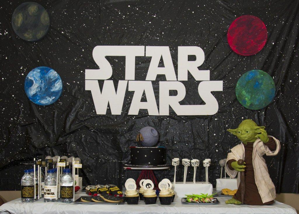 A STAR WARS PARTY! Star wars party, Star wars, War