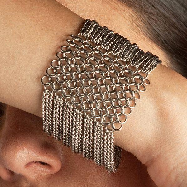 Photo of SLINKY bracelet with 8 rows