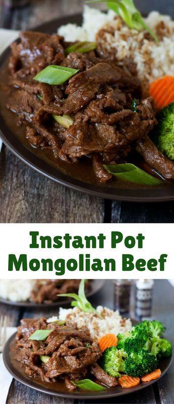 Pressure Cooker Mongolian Beef #beefsteakrecipe