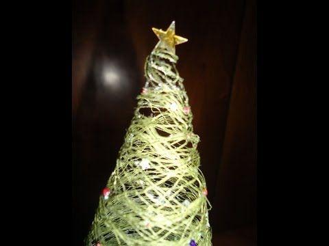 Tutorial - Albero di Natale con filo da cucito
