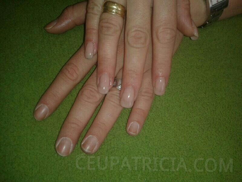 Antes y despues, uñas de gel | Uñas | Pinterest | Uñas de gel