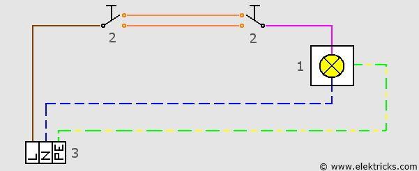 Wechselschaltung Schema Elektroinstallation Selber Machen Elektroinstallation Elektroverkabelung