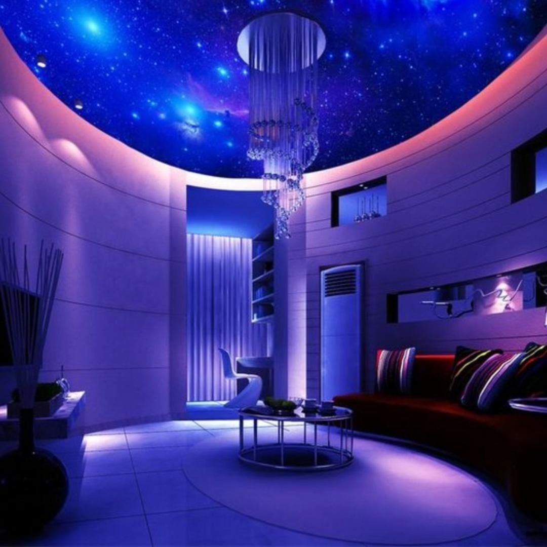 Diy Outer Space Video In 2021 Space Themed Bedroom Bedroom Themes Space Themed Room Space themed living room