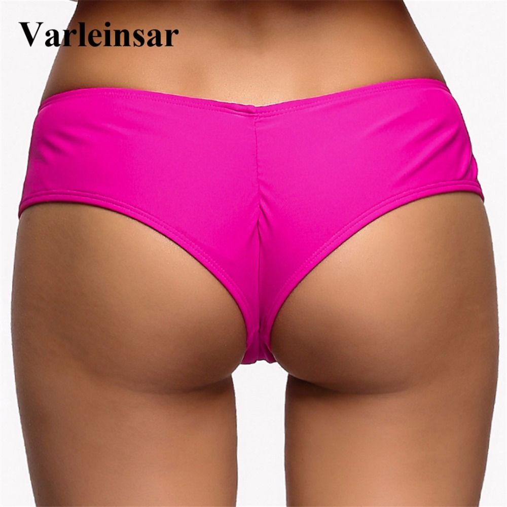 302fa971a5f Aliexpress.com   Buy Bather swim brief V shape sexy female swimwear women  brazilian bikini